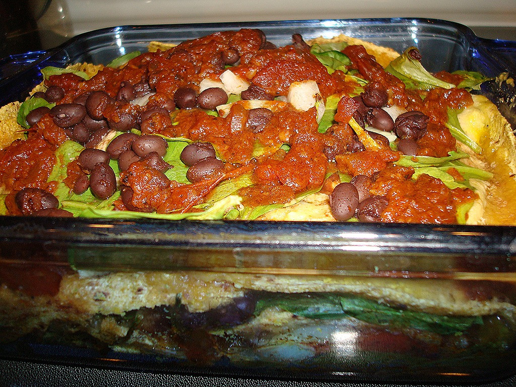 Mexican Casserole With Corn Tortillas  Mexican Corn Tortilla Casserole