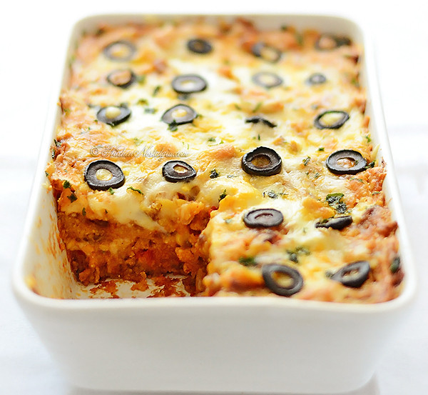 Mexican Casserole With Tortilla Chips  Tortilla Chips Casserole