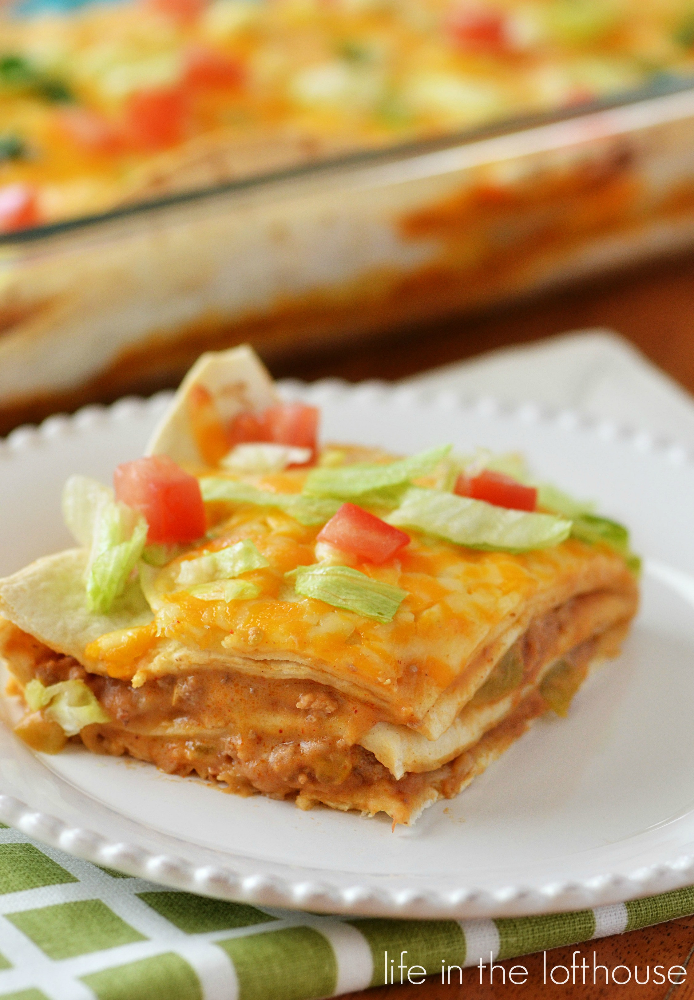 Mexican Casserole With Tortillas  Mexican Tortilla Stack