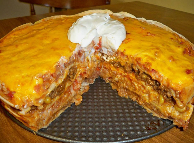 Mexican Casserole With Tortillas  Recipes & Recipes MEXICAN TORTILLA CASSEROLE