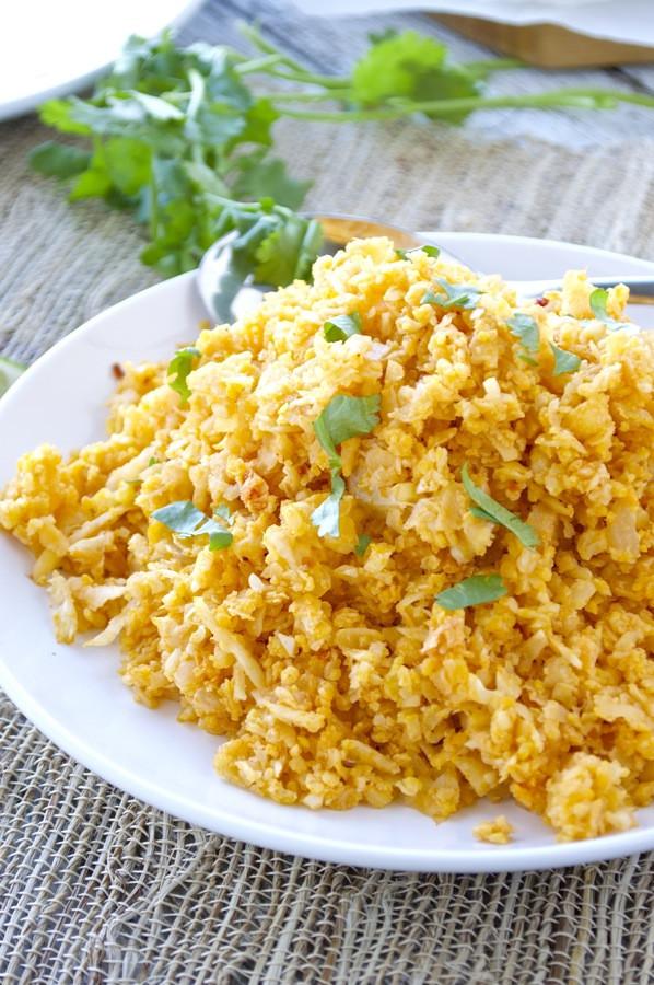 "Mexican Cauliflower Rice  Mexican Cauliflower ""Rice"" Fashionable Foods"