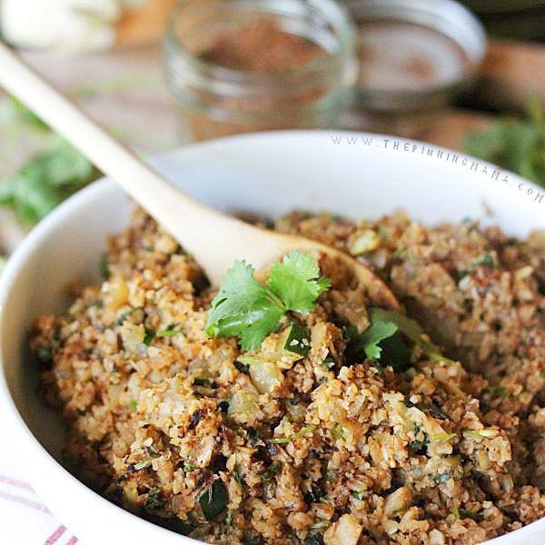 Mexican Cauliflower Rice  Mexican Cauliflower Rice Recipe Paleo Whole30 pliant