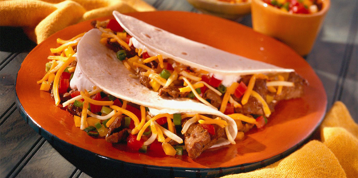 Mexican Cheese For Tacos  Gourmet Mexican Steak Taco Recipe