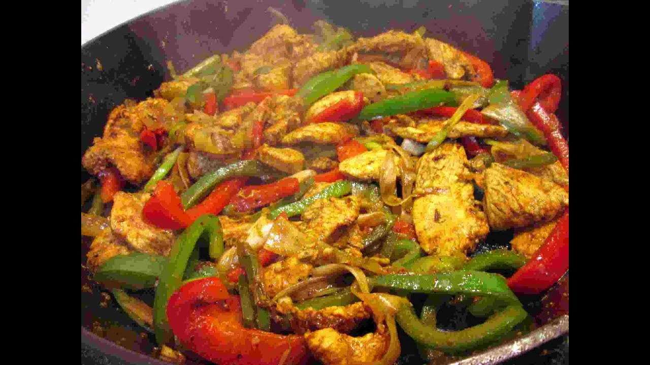 Mexican Chicken Fajita Recipes  The Best Mexican Chicken Fajitas Recipe Cooking Chicke
