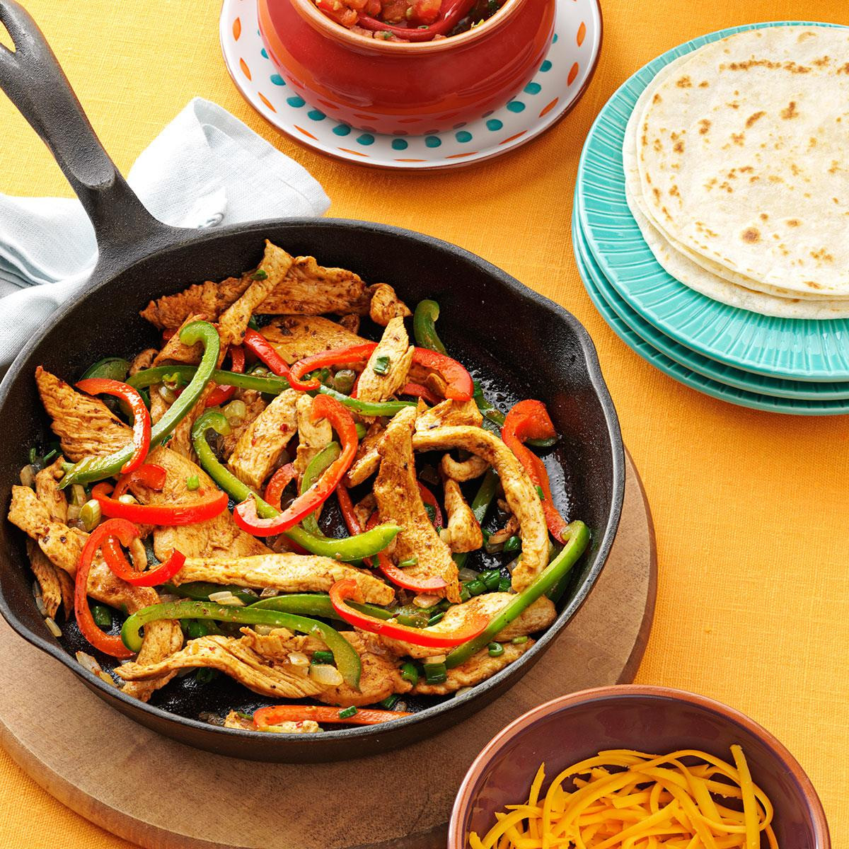 Mexican Chicken Fajita Recipes  Flavorful Chicken Fajitas Recipe