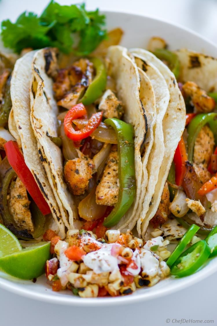 Mexican Chicken Fajita Recipes  Chicken Fajita Recipe