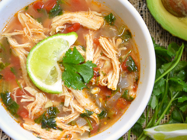 Mexican Chicken Soup  Mexican Chicken Lime Soup Recipe for a Cold Evening