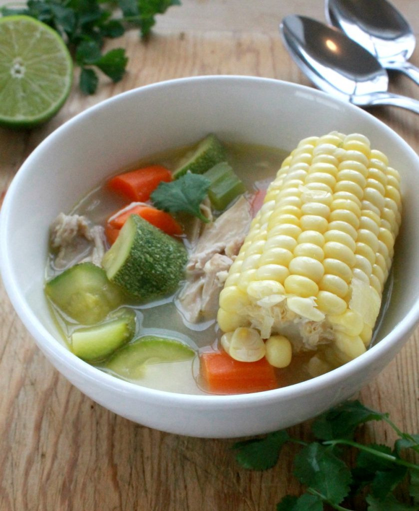 Mexican Chicken Soup  Caldo de Pollo or Mexican Chicken Soup VIDEO