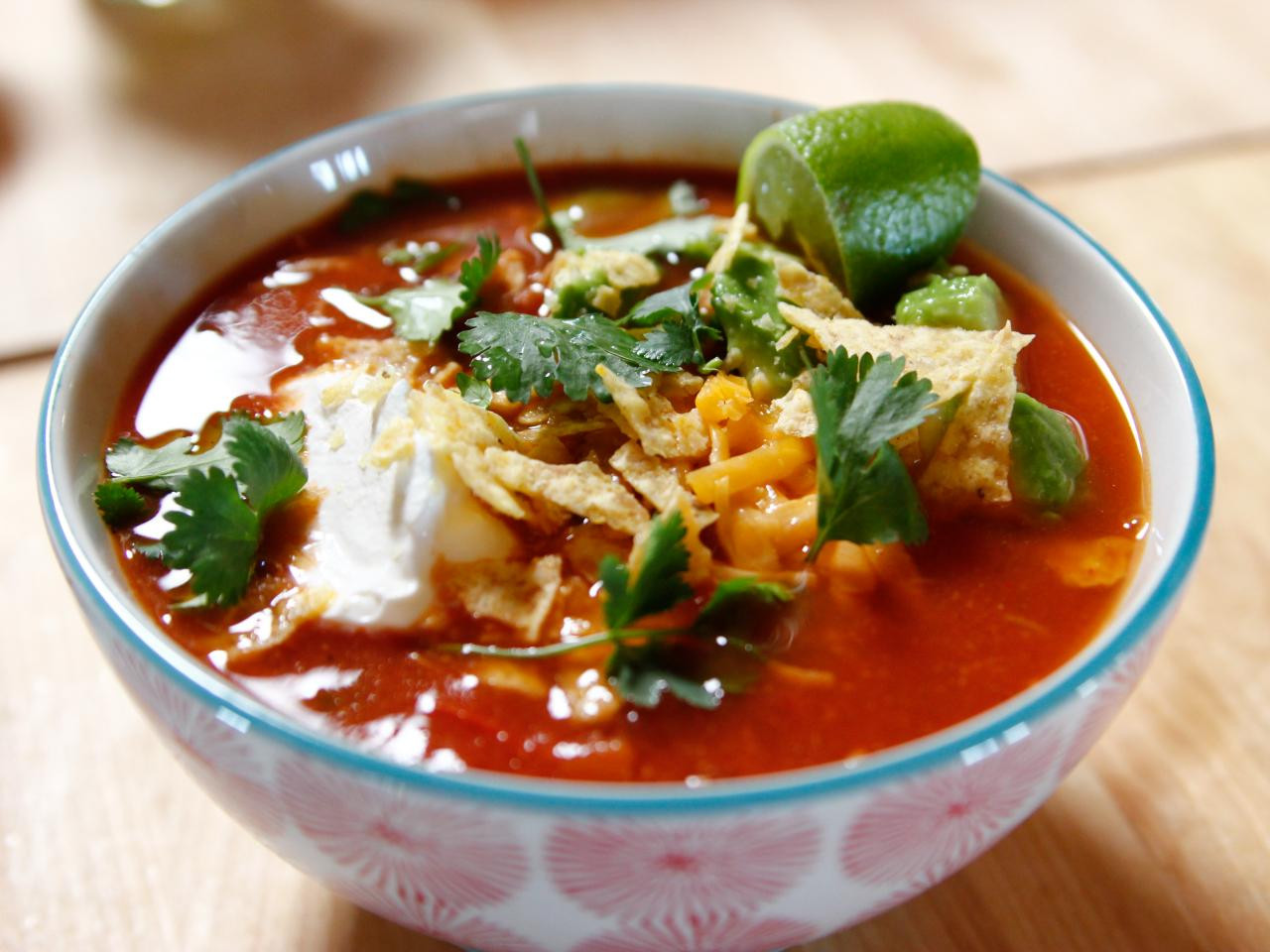 Mexican Chicken Soup  Mexican Chicken Soup