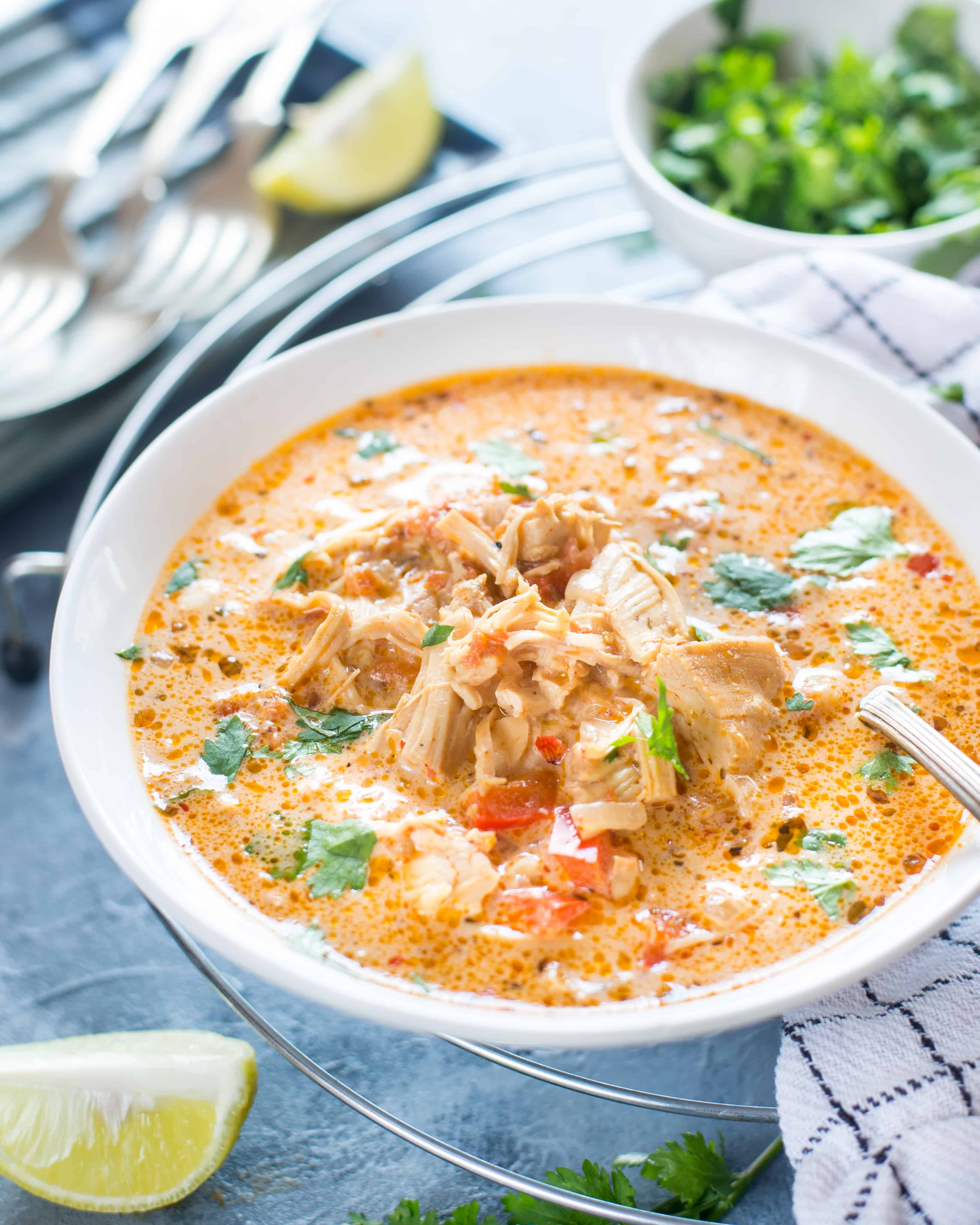 Mexican Chicken Soup  SLOW COOKER MEXICAN CHICKEN SOUP The flavours of kitchen