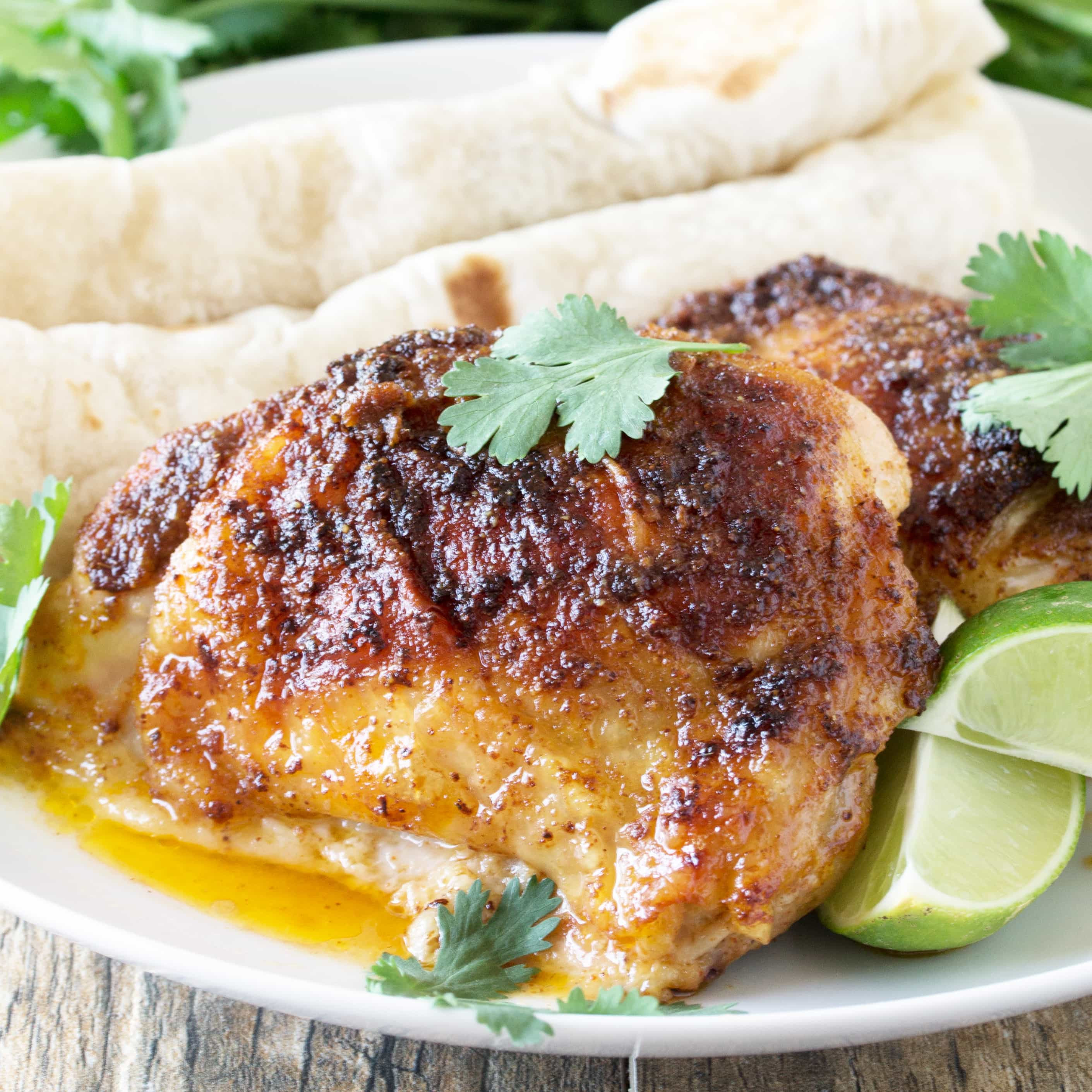 Mexican Chicken Thighs  baked mexican chicken thighs