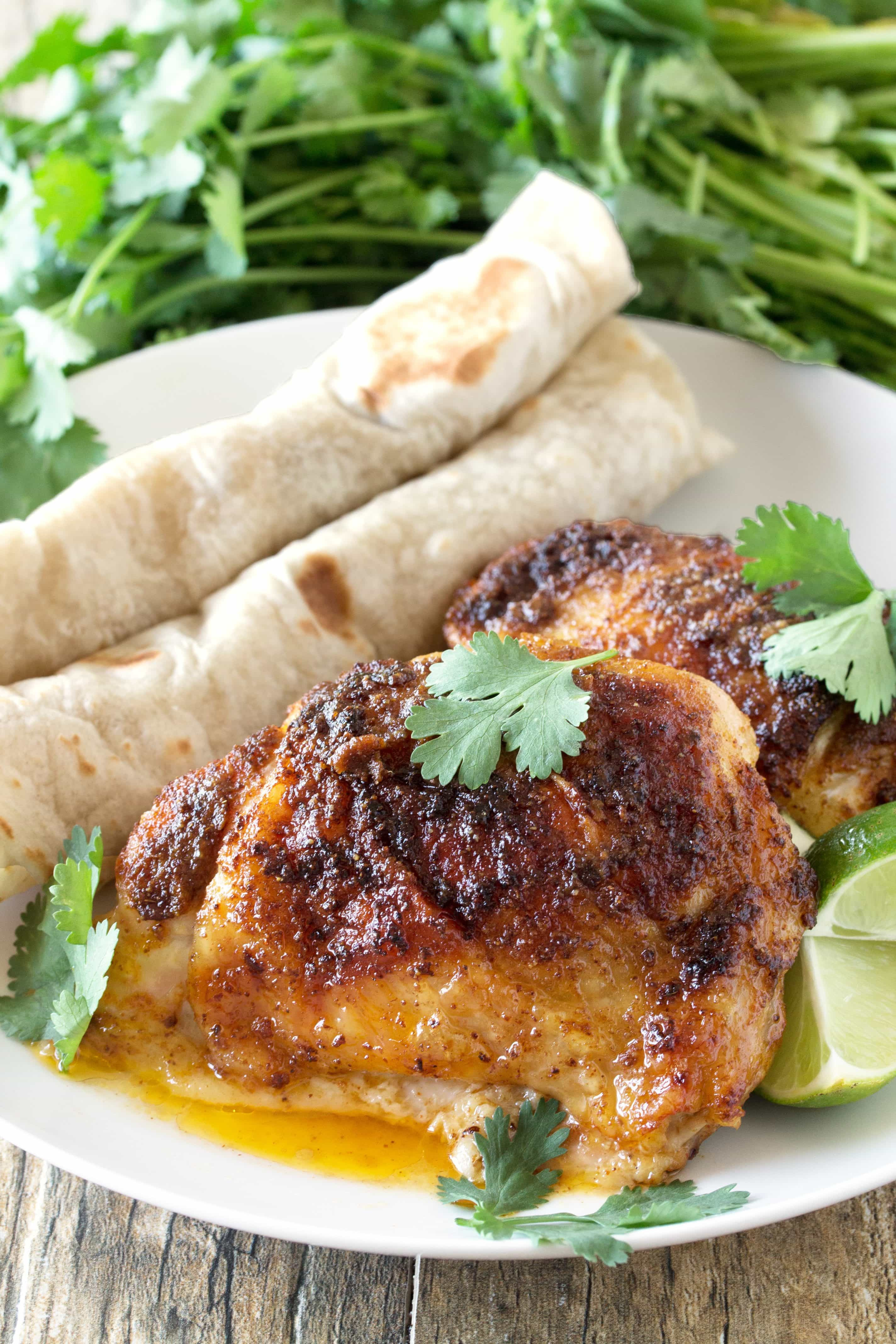 Mexican Chicken Thighs  bone in chicken thigh recipes