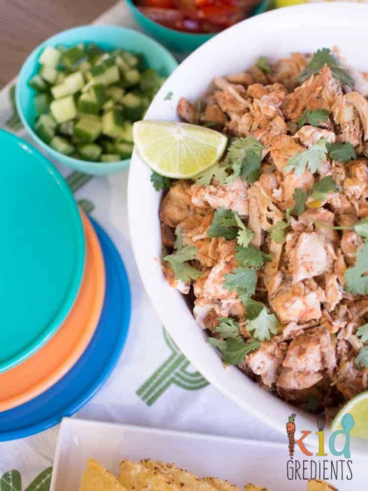Mexican Chicken Thighs  Slow cooker mexican chicken thighs Kidgre nts
