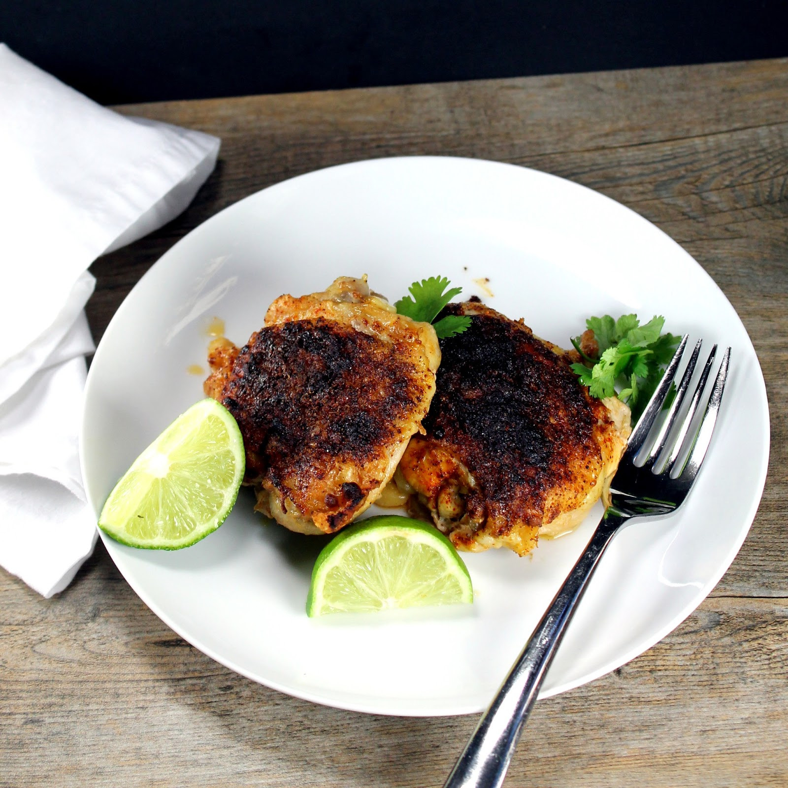 Mexican Chicken Thighs  The Stay At Home Chef Mexican Spiced Chicken Thighs