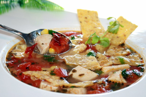 Mexican Chicken Tortilla Soup  Mexican Chicken Tortilla Soup Recipe Food