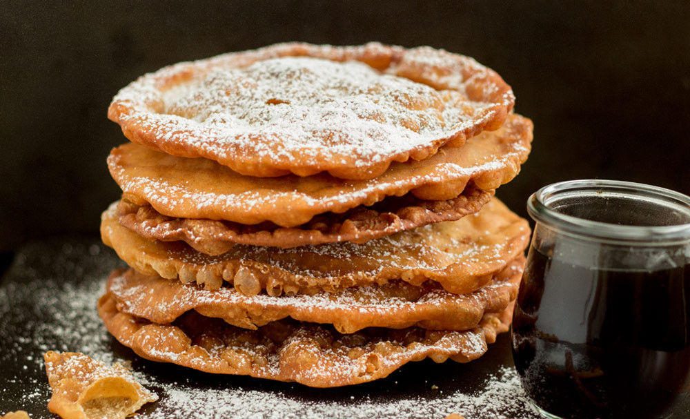 Mexican Christmas Desserts  Mexican Buñuelos with Spiced Brown Sugar Syrup
