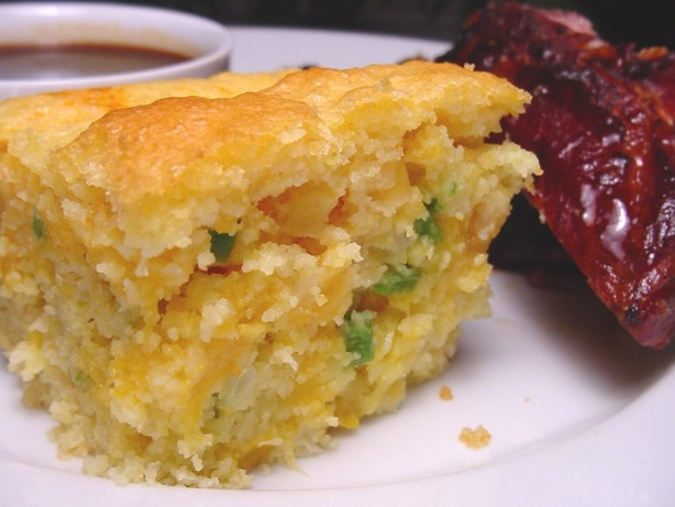 Mexican Corn Bread  Layered Mexican Cornbread Recipe Food