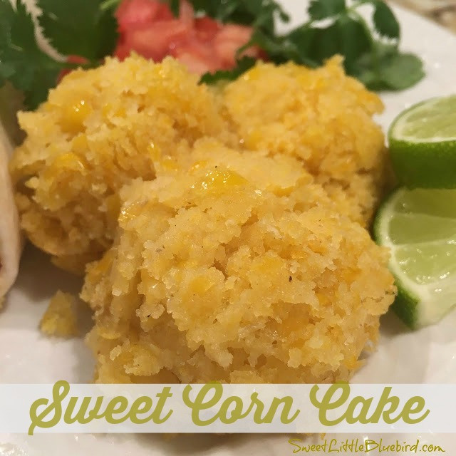 Mexican Corn Cake  Sweet Little Bluebird Mexican Sweet Corn Cake