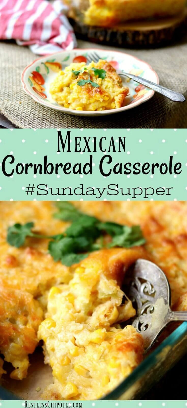 Mexican Corn Casserole  Best 25 Easy mexican cornbread ideas on Pinterest
