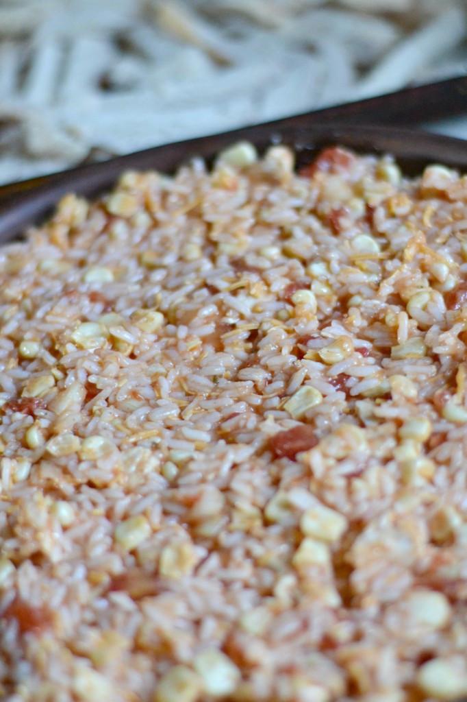 Mexican Corn Casserole  Easy Mexican Rice Recipe