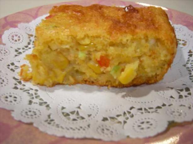 Mexican Cornbread Recipe  Tjs Moist Mexican Cornbread Recipe Food