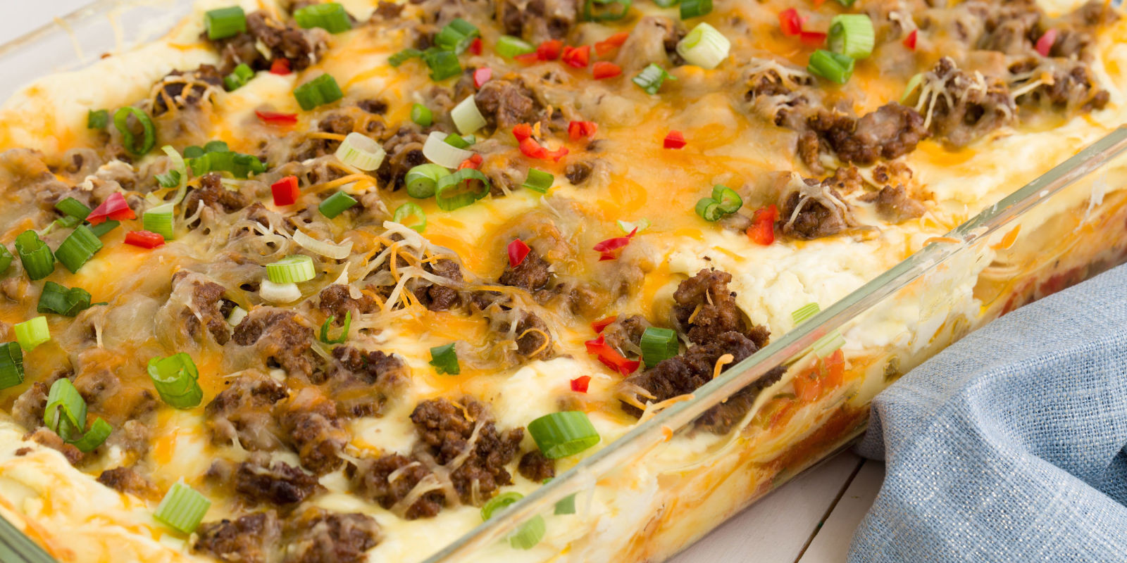 Mexican Food Recipes With Pictures  Best Cheesy Taco Lasagna Recipe How to Make Cheesy Taco