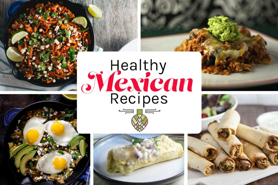 Mexican Food Recipes With Pictures  Healthy Mexican Food Recipes