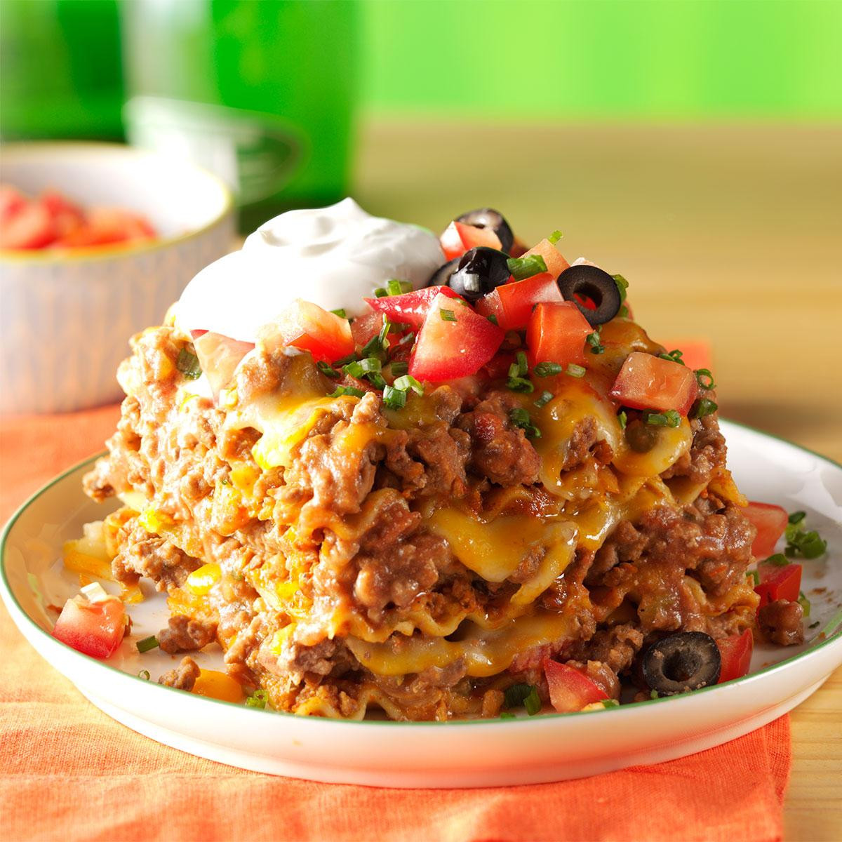 Mexican Food Recipes With Pictures  Mexican Lasagna Recipe