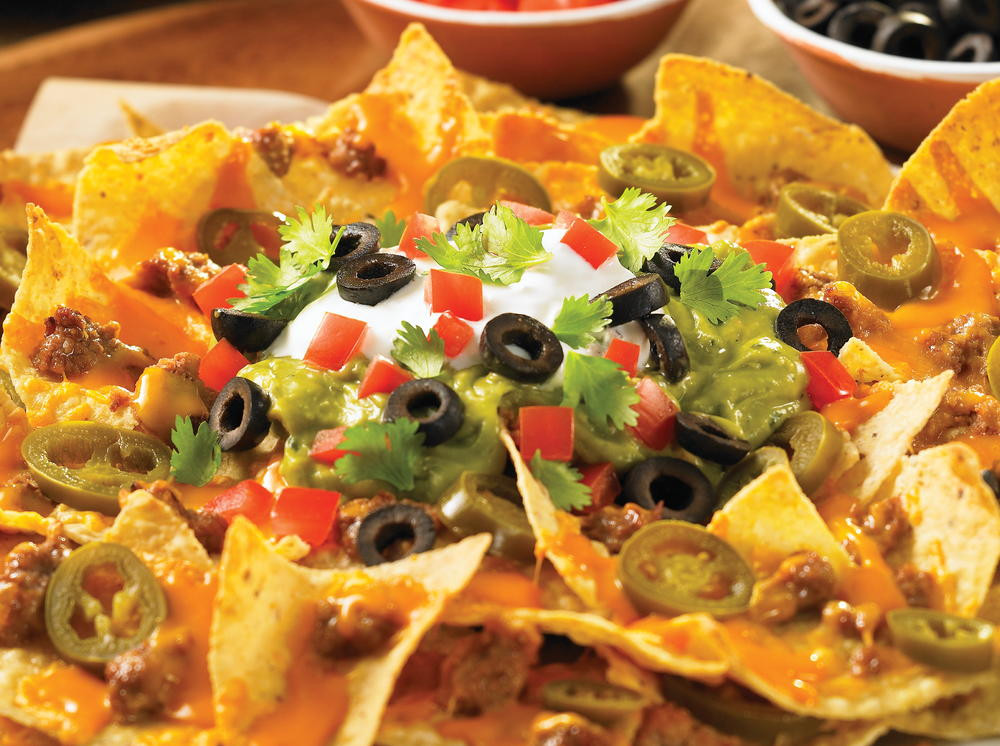 Mexican Food Recipes With Pictures  Nachos Grande