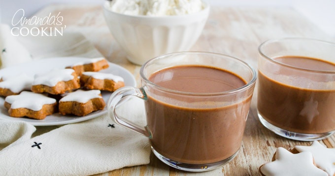 Mexican Hot Drinks  Champurrado Thick Mexican Hot Chocolate Drink
