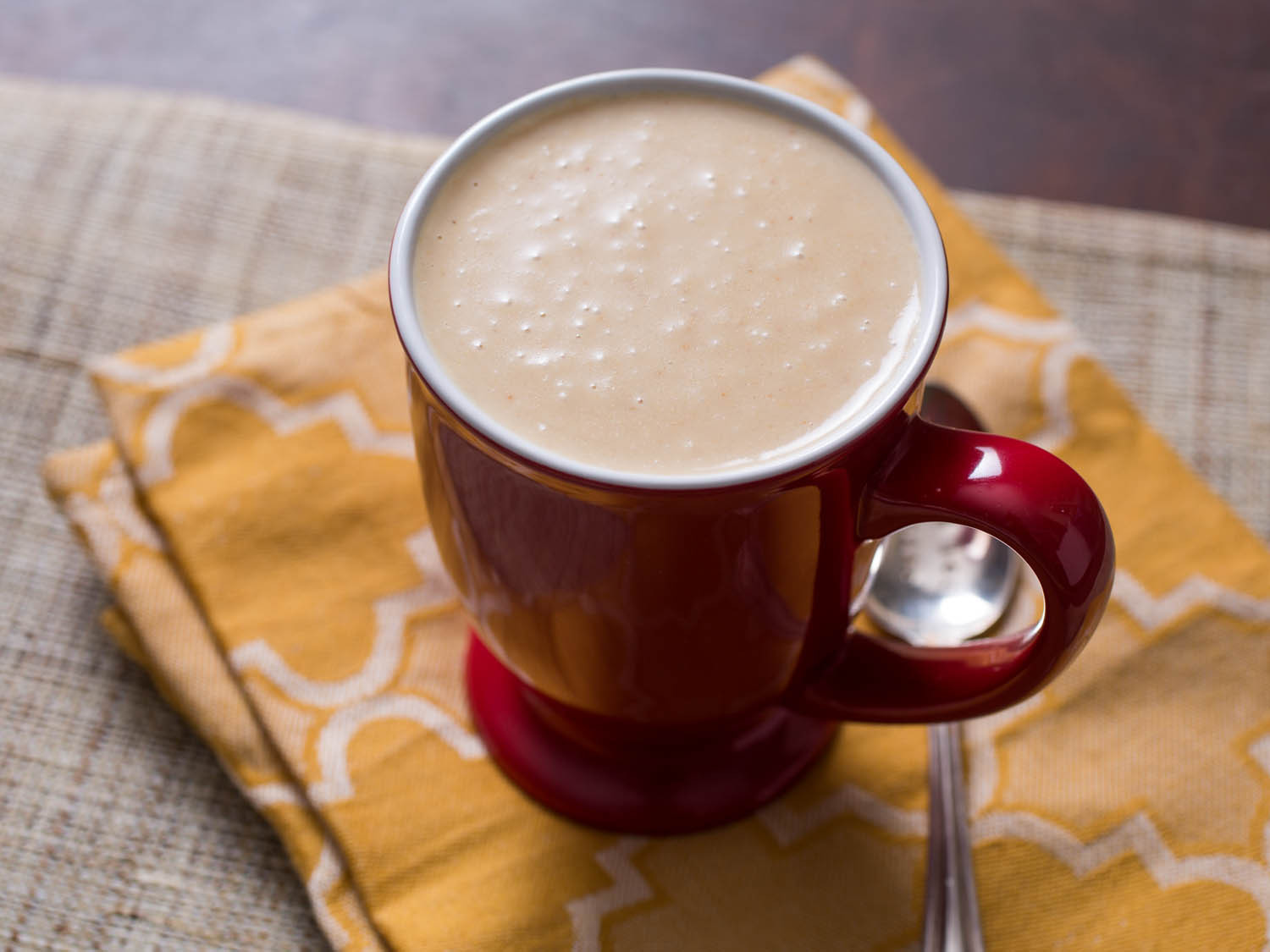 Mexican Hot Drinks  Peanut Atole Hot Mexican Corn Drink With Peanut Flavor