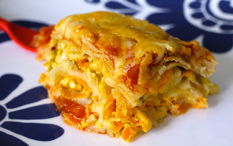 Mexican Lasagna With Tortillas  Slow Cooker Tortilla Lasagna