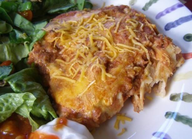Mexican Lasagna With Tortillas  Mexican Tortilla Lasagna Recipe Food