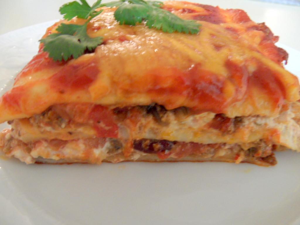 Mexican Lasagna With Tortillas  Mexican Lasagna