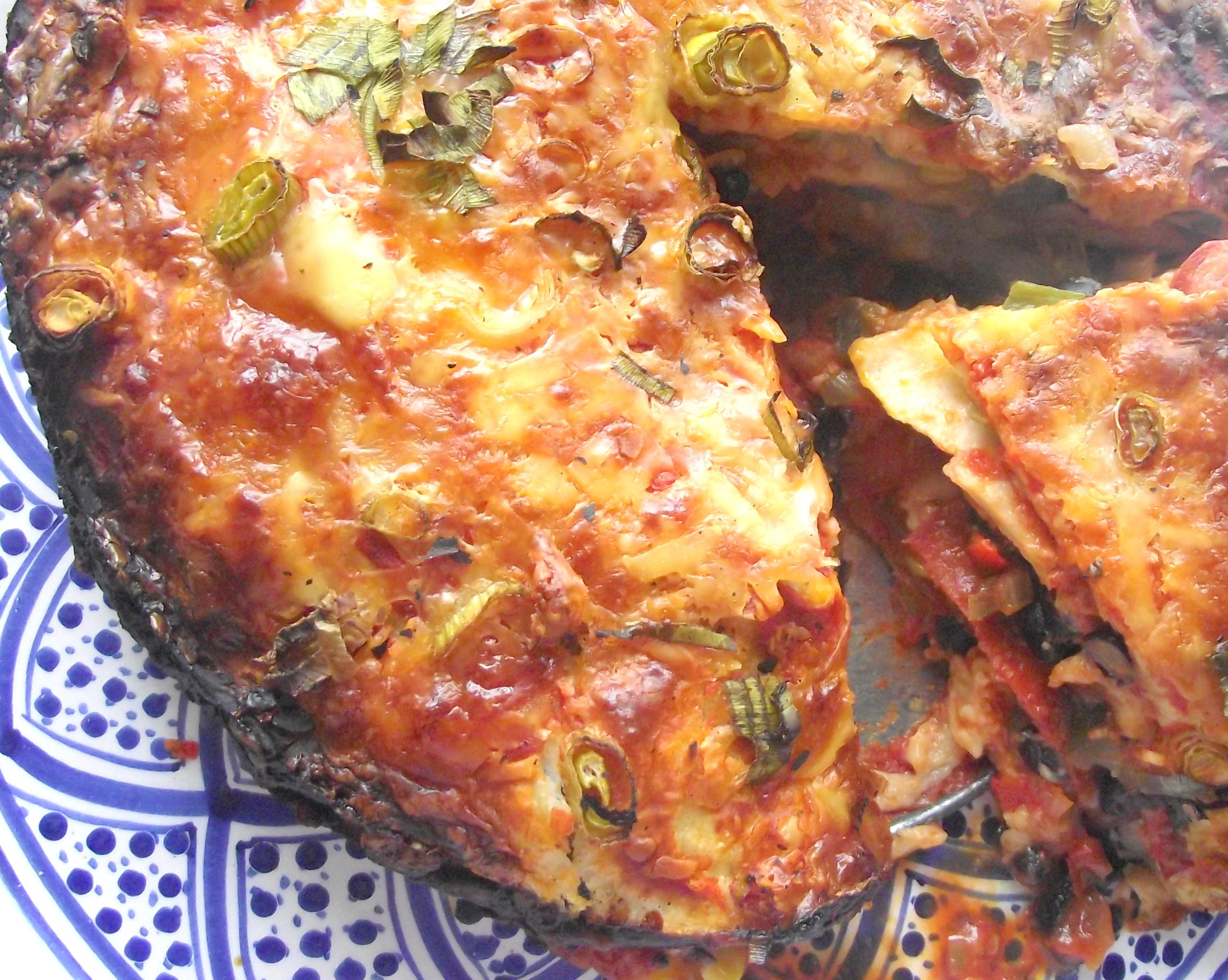 Mexican Lasagna With Tortillas  Mexican Tortilla Lasagne