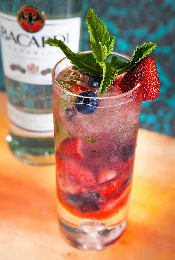 Mexican Mix Drinks  Popular Mojito and Berries on Pinterest