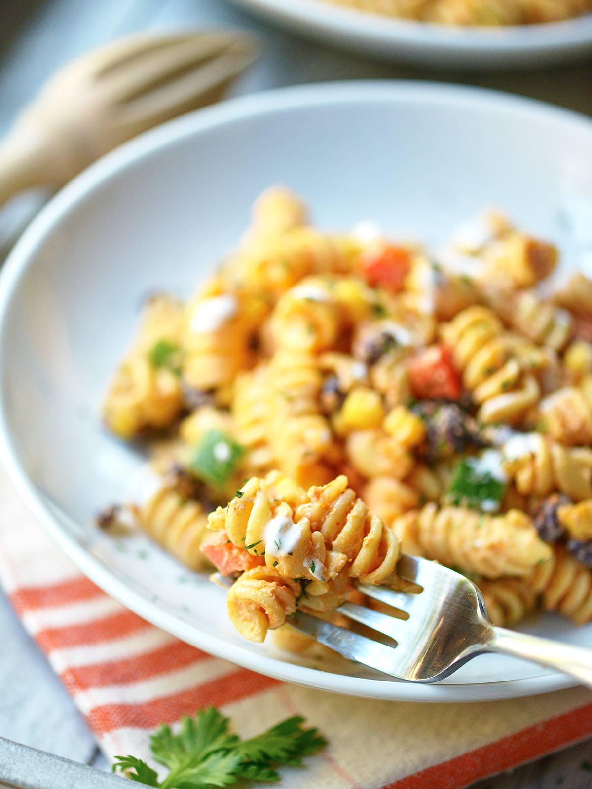 Mexican Pasta Salad  Mexican Pasta Salad the Perfect Summer Side Dish