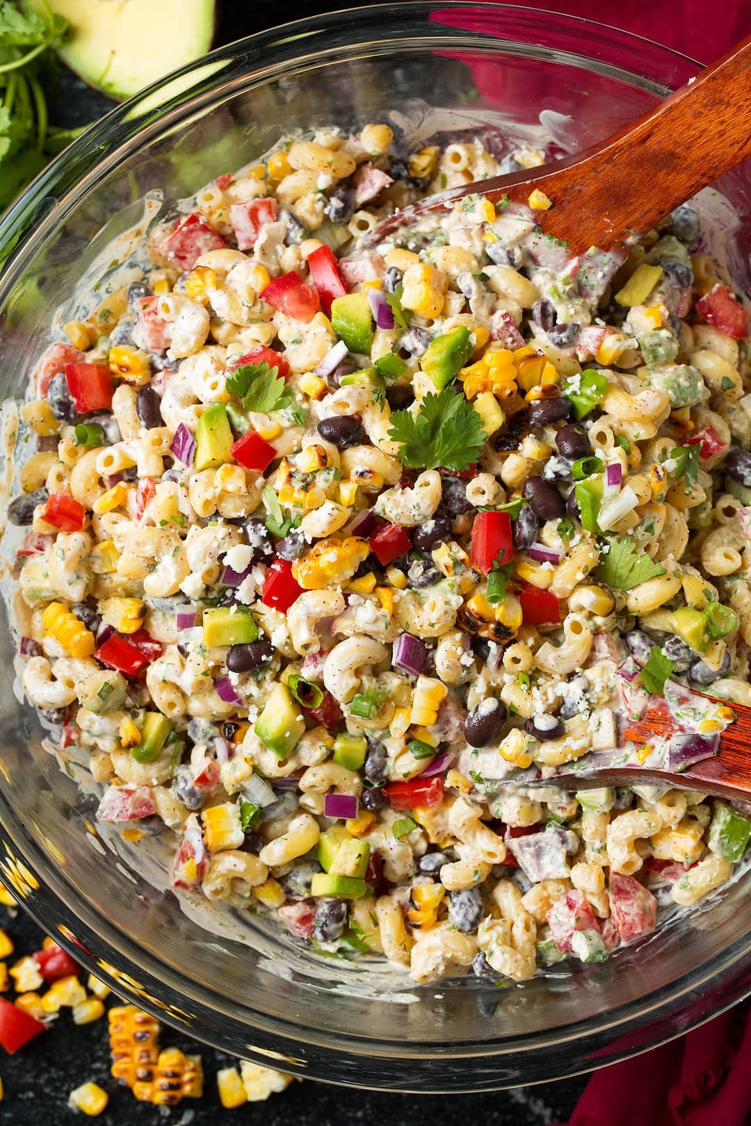 Mexican Pasta Salad  Mexican Macaroni Salad Cooking Classy