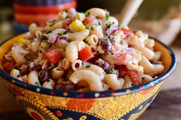Mexican Pasta Salad  Mexican Macaroni Salad