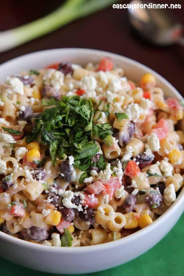 Mexican Pasta Salad  Mexican Pasta Salad