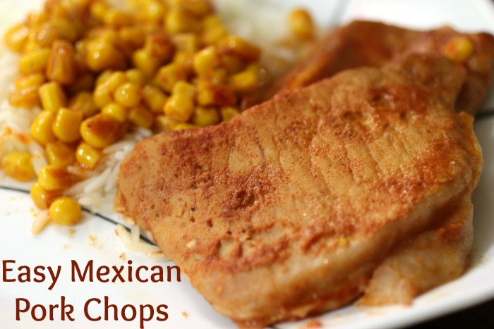 Mexican Pork Chops  Pork Archives Cooking in Bliss