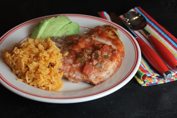 Mexican Pork Chops  Quick and Easy Mexican Pork Chops