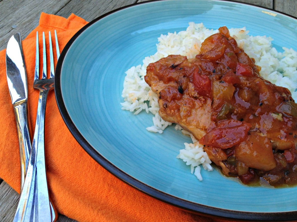 Mexican Pork Chops  Mexican Pork Chops & a Slow Cooker Giveaway Cooking