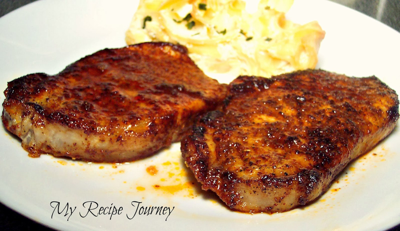 Mexican Pork Chops  My Recipe Journey Mexican Pork Chops
