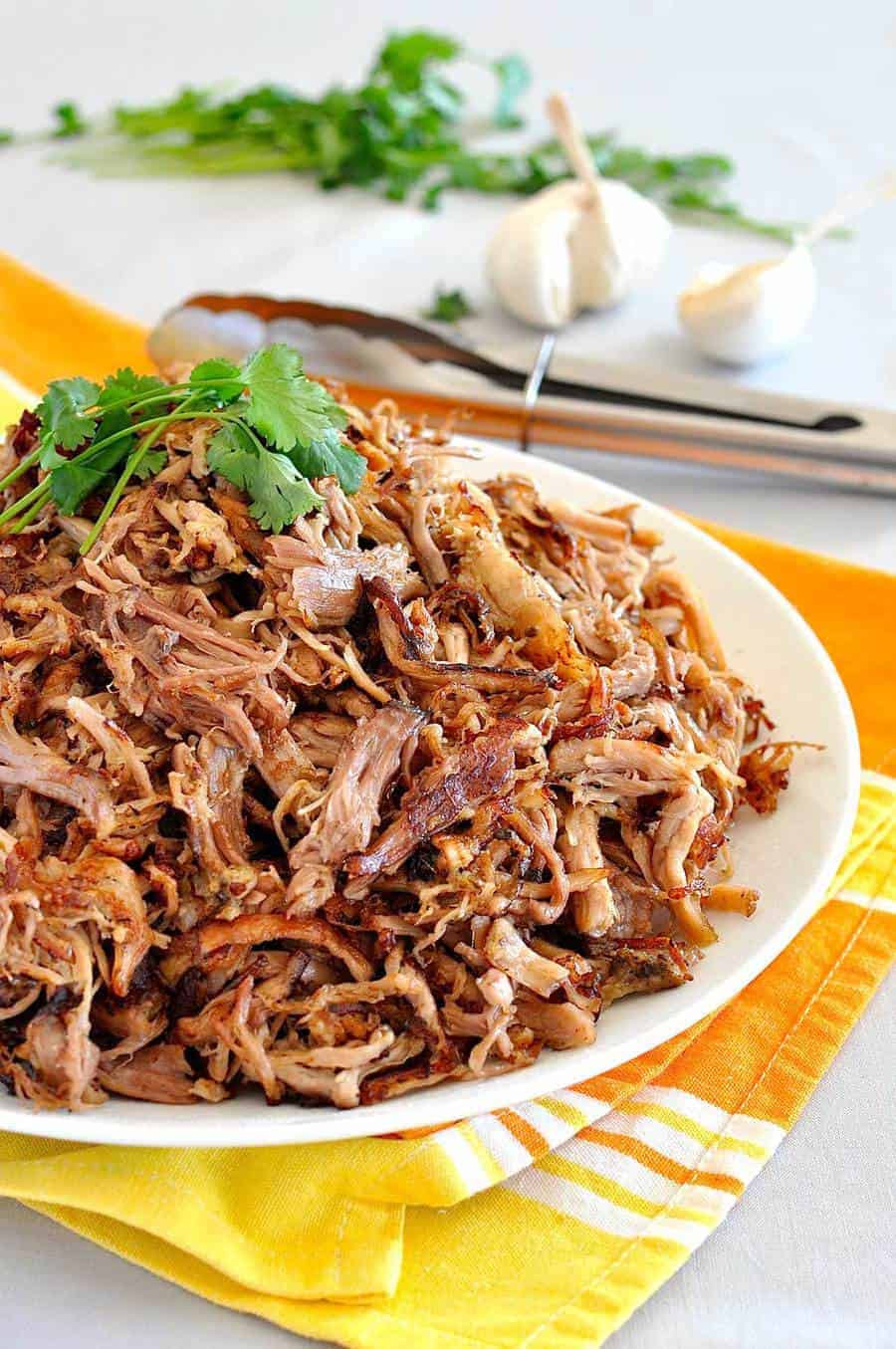 Mexican Pork Recipes  Pork Carnitas Mexican Slow Cooker Pulled Pork