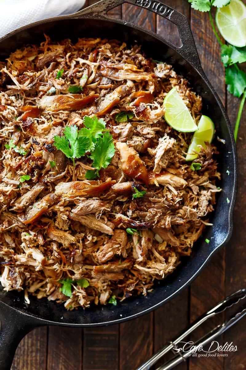 Mexican Pork Recipes  how to make carnitas mexican style