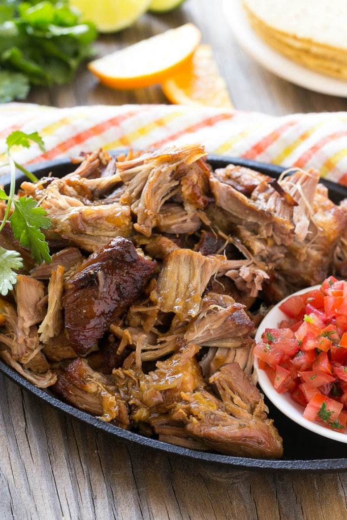 Mexican Pork Recipes  spicy mexican pulled pork recipe