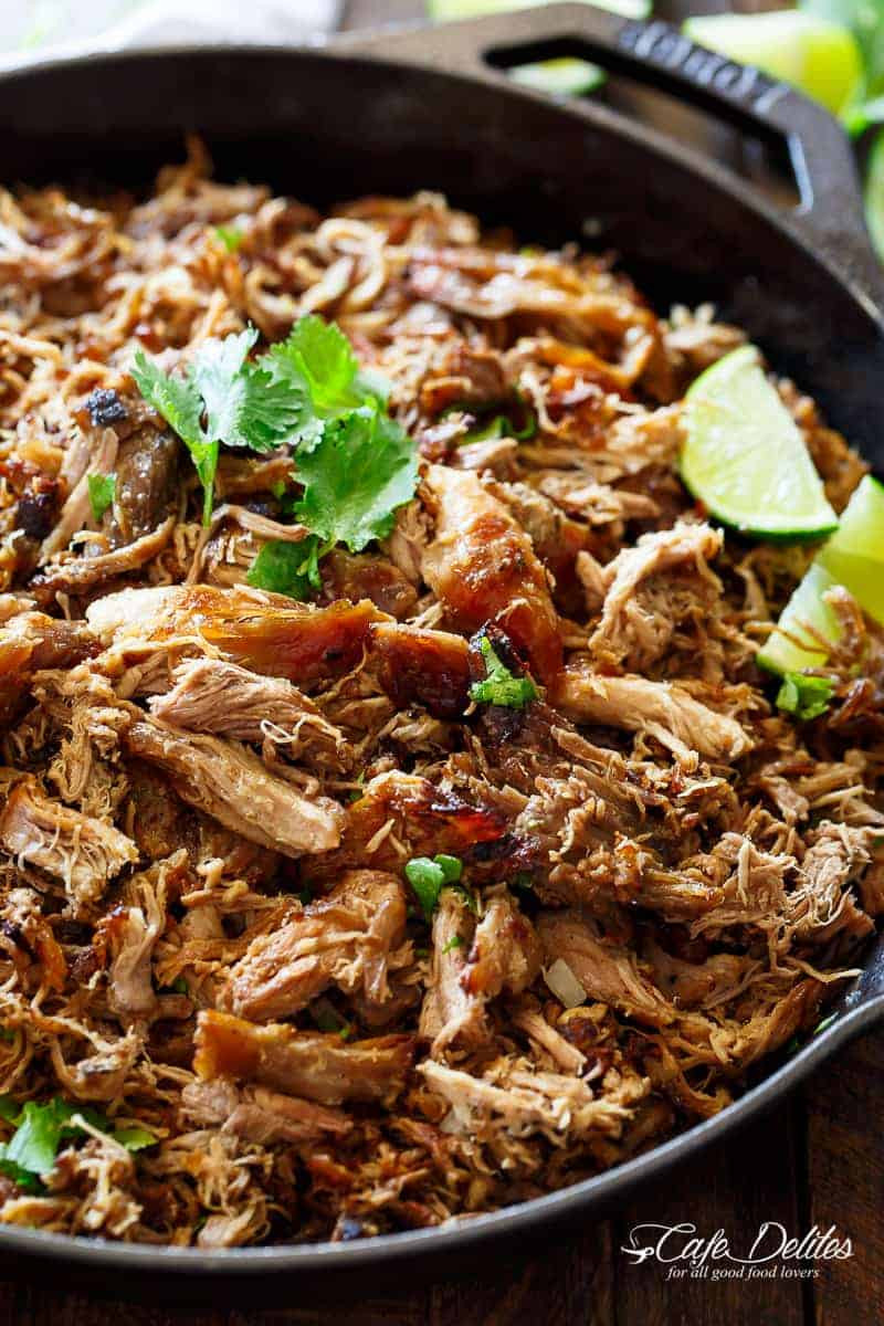 Mexican Pork Recipes  Crispy Pork Carnitas Mexican Slow Cooked Pulled Pork