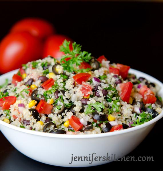 Mexican Quinoa Salad  The Secret to Great Tasting Quinoa