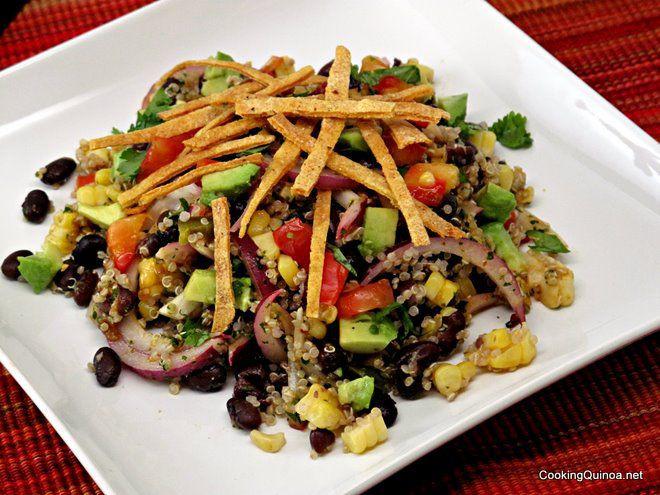 Mexican Quinoa Salad  Mexican Quinoa Salad Wendy Polisi